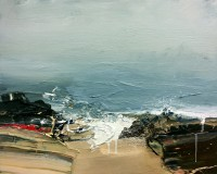 Chris Bushe RSW Freshening Winds and Salt in the Air