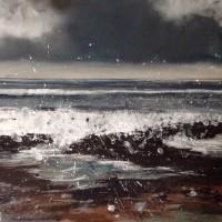 Helen Fryer Storm Tossed Rock Pools