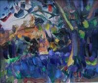 James Fullarton Bluebells in the Garden