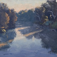 Warwick Fuller Sun through the River Mist