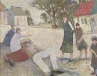 Glen Preece Children on the street - Monteagle