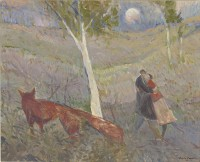 Glen Preece The lovers, the fox and the moon