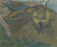 Alexander Milligan Galt RGI (1913-2000) Inverkip Beach