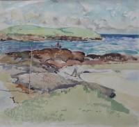 Alexander Galt Children Fishing on the Rocks