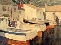 Glen Preece The boats at Mousehole