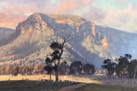 Warwick Fuller Golden Afternoon Light, Capertee Valley