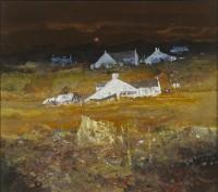 Gordon Hope Wyllie RSW Hebridean Township