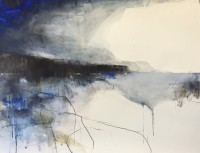 Hannah Woodman Cobalt Blue Waters, Cornish Headland