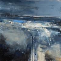 Hannah Woodman Evening Blue, Sennen Cove
