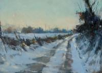 Hannah Woodman Evening Walk, Soft Snow