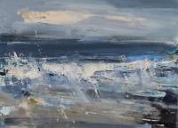 Hannah Woodman Navy Waves, Sennen