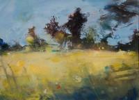 Hannah Woodman Yellow Fields, Daffodils