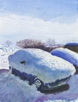 Howard Morgan Snow Covered Cars