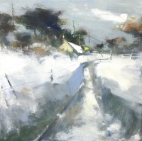 Hannah Woodman Snow Blanket Cornish Village