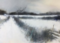 Hannah Woodman Snow Silence Cornish Farm
