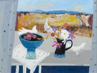Christine Woodside Harvest Window, Fife