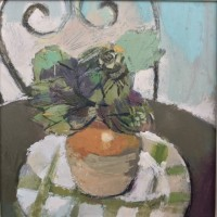 Helen Riches Artichokes on French Table