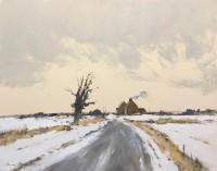 Ian Houston February Snow - North Norfolk