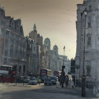 Tom Hughes Early Morning Sunstreak on Whitehall