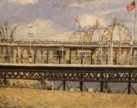 George Manchester Brighton Old Pier 1955