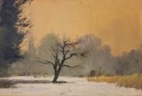 Ian Houston (b. 1934) Cherry Tree in the Snow