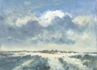 Ian Houston (b. 1934) Clouds Over the Norfolk Coast