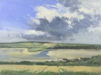 Ian Houston (b. 1934) Low Water at Newport, Pembrokeshire