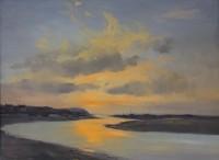 Ian Houston (b. 1934) The Estuary, Newport Bay, Pembrokeshire