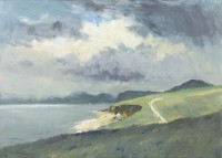 Ian Houston (b. 1934) The Isle of Skye - Clouds over the Cuillins