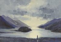 Ian Houston Contre Jour - Loch Shiel