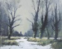 Ian Houston Norfolk Woodlands in the Snow