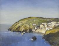 Ian Houston Port Loe in Sunlight, Cornish Coast