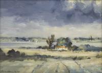 Ian Houston Sunlight Through Cloud - River Orwell