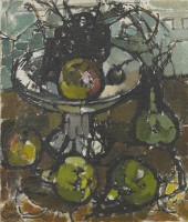 Ida Cooke (1913 - 1982) Fruit Still Life, 1963