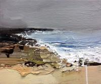 Chris Bushe RSW Incoming Tide, Autumn Shoreline
