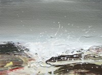 Chris Bushe RSW Islay Wave Study 3