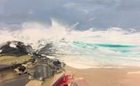 Chris Bushe RSW Islay Wave Study 4