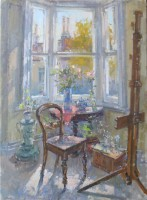 John Martin Studio Window