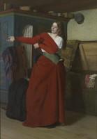 Jakob Kulle Woman Dressing