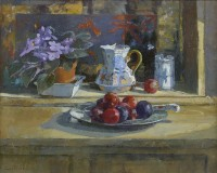 Jane Corsellis RSW NEAC (b.1940) The Mason's Jug