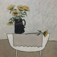 Jane Hooper Sunflowers