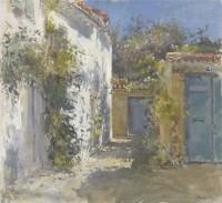 John Martin The Secret Garden, Les Portes