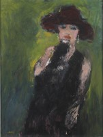 Heskel Joory (1925–2015) Party Girl