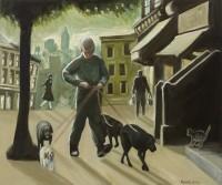 Ken White Dog Walker New York II
