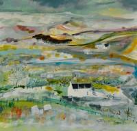 Katherine Swinfen Eady Across the Valley, Snow