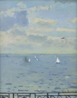 Ken Howard OBE RA (b. 1932) Isle of Wight