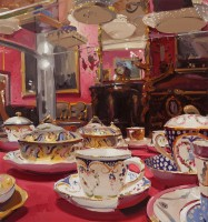 Alan Kingsbury Sevres through Red and Gold