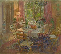Susan Ryder RP NEAC The Kitchen Table, Provence