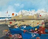 Christine Woodside Kites and Flags, Essaouira