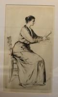Francis Dodd Lady Reading a Book